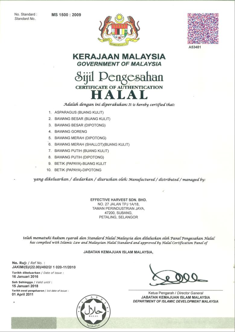 Effective Harvest Sdn Bhd